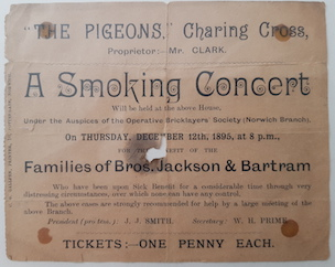 Smoking Concert Ticket