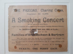 Smoking Concert Ticket 1895